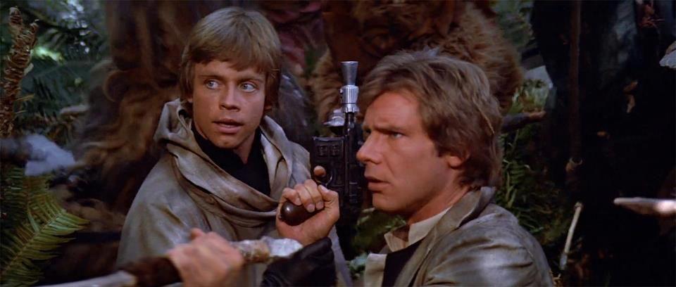 Luke And Han Escena
