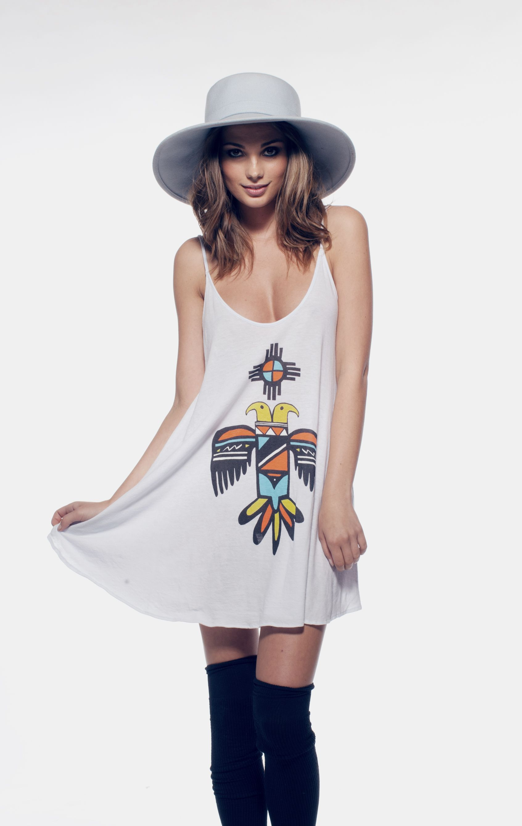 BLAZING SUN - SLIP DRESS at Wildfox Couture in