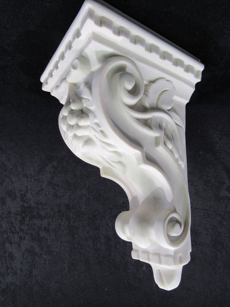 Ever True 35 Ca 2p 9 13 16 Raw Resin Ornamental Victorian Corbel Unpainted Nib Evertrue Corbels Christmas Ornaments To Make Victorian