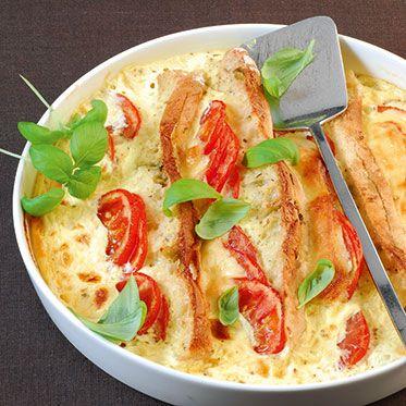 Italienischer Brotauflauf mit Pesto Recipe Food, Recipes and - italienische küche rezepte