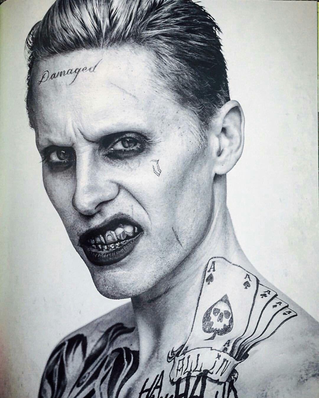 Jared Leto Joker Damaged : jared, joker, damaged, Harley, Quinn, Joker