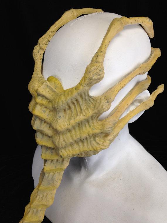 Alien Facehugger Face Hugger Mask Costume By Gcfx On Etsy Holiday