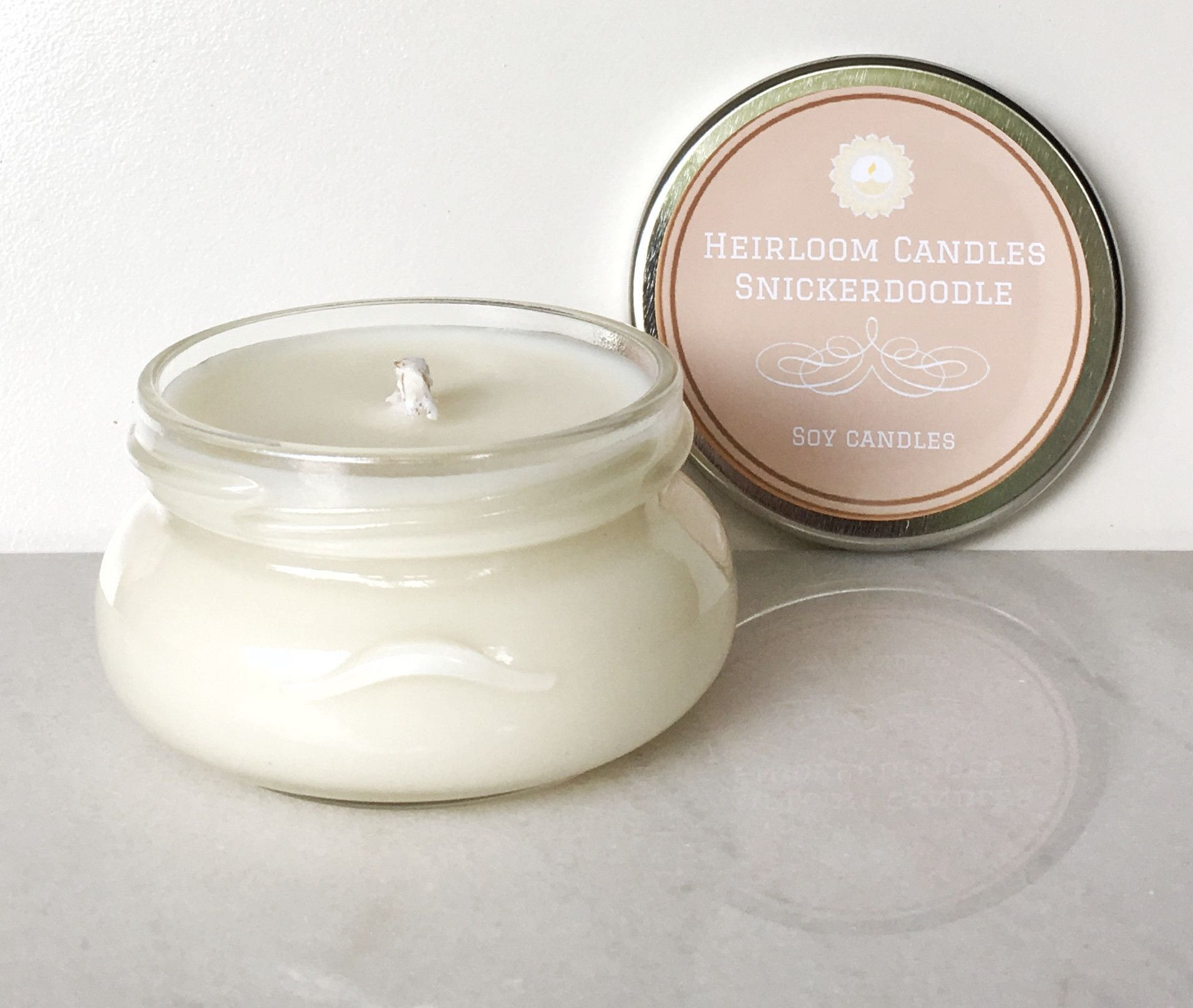 Snickerdoodle Soy Candle Glass Tureen 6 12oz Girly Pinterest Natural Wax Scented Candles Cinnamon Vanilla