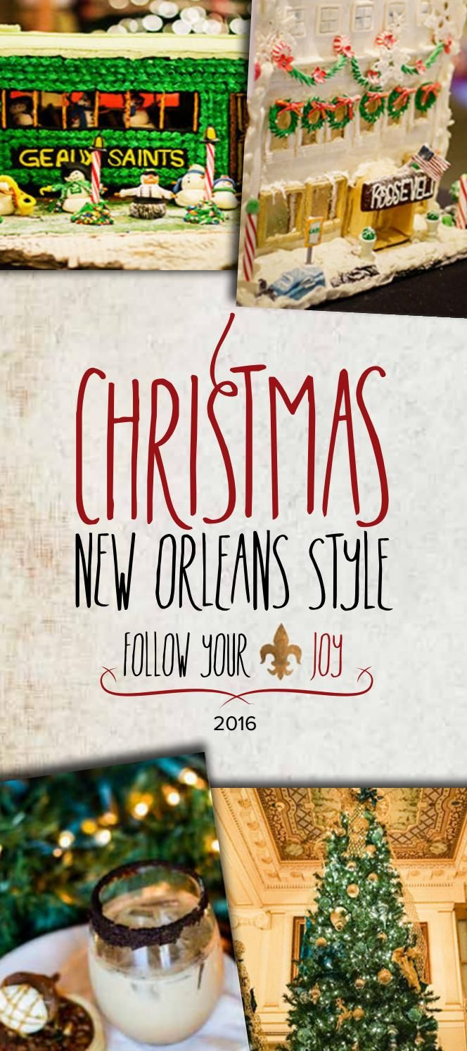 New Orleans Christmas Events 2019 Christmas New Orleans Style 2016 Guide in 2019 | Vacation Places