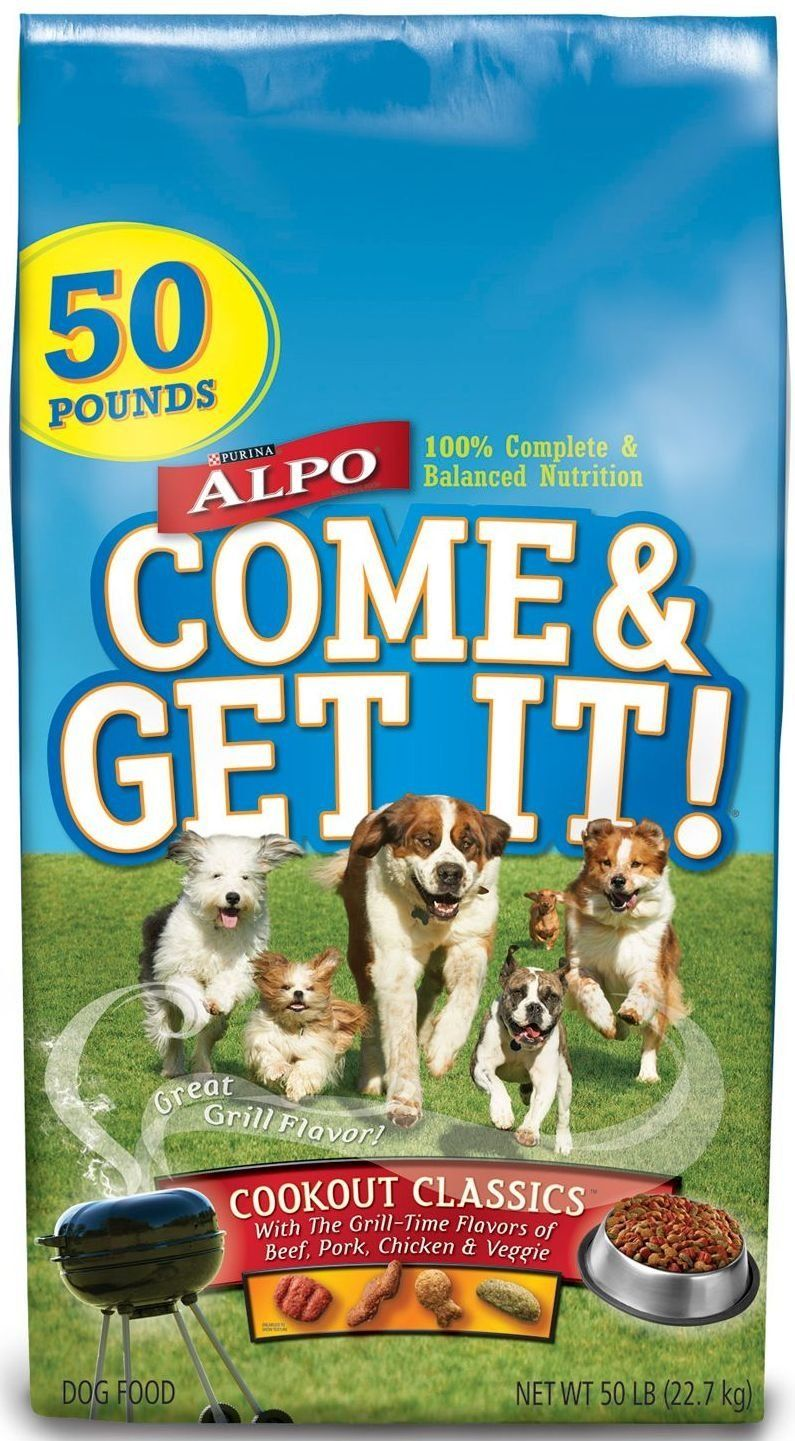 Purina Alpo Come And Get It Cookout Classics Dog Food 50 Lbs