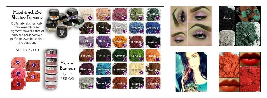 CRUELTY-FREE! NATURALLY BASED MINERAL PIGMENTS. So many uses! You can get it here: www.lisaspassionforlashes.com