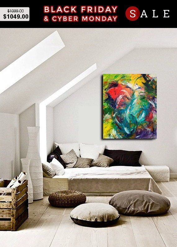 Groovy Big Abstract Acrylic Painting On Canvas Colorful Abstract Download Free Architecture Designs Scobabritishbridgeorg