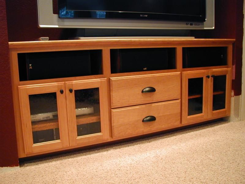 Also Complete In One Weekend And But It S Actually A TV Cabinet Sectional  Entertainment Center