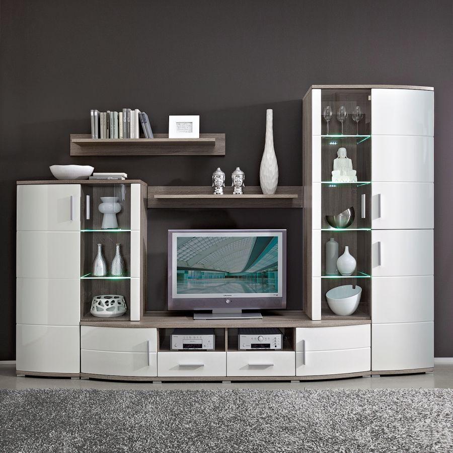 Modoform Wohnwand Für Ein Modernes Heim Home24 Nobles Wohnzimmer Wohnzimmerschränke Hausbarschrank