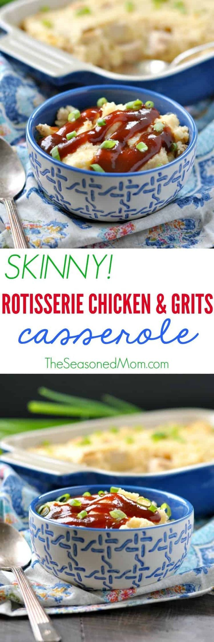 A classic Southern dish gets a healthy makeover in this easy Skinny Rotisserie C  Dinners