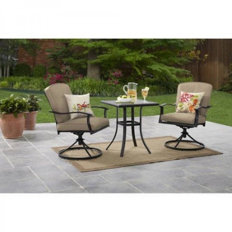 Inspirational Outdoor Bar Set with Swivel Chairs