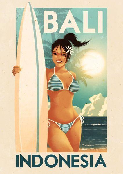 'Bali - Indonesia' by Rui Ricardo on artflakes.com as poster or art print $27.72
