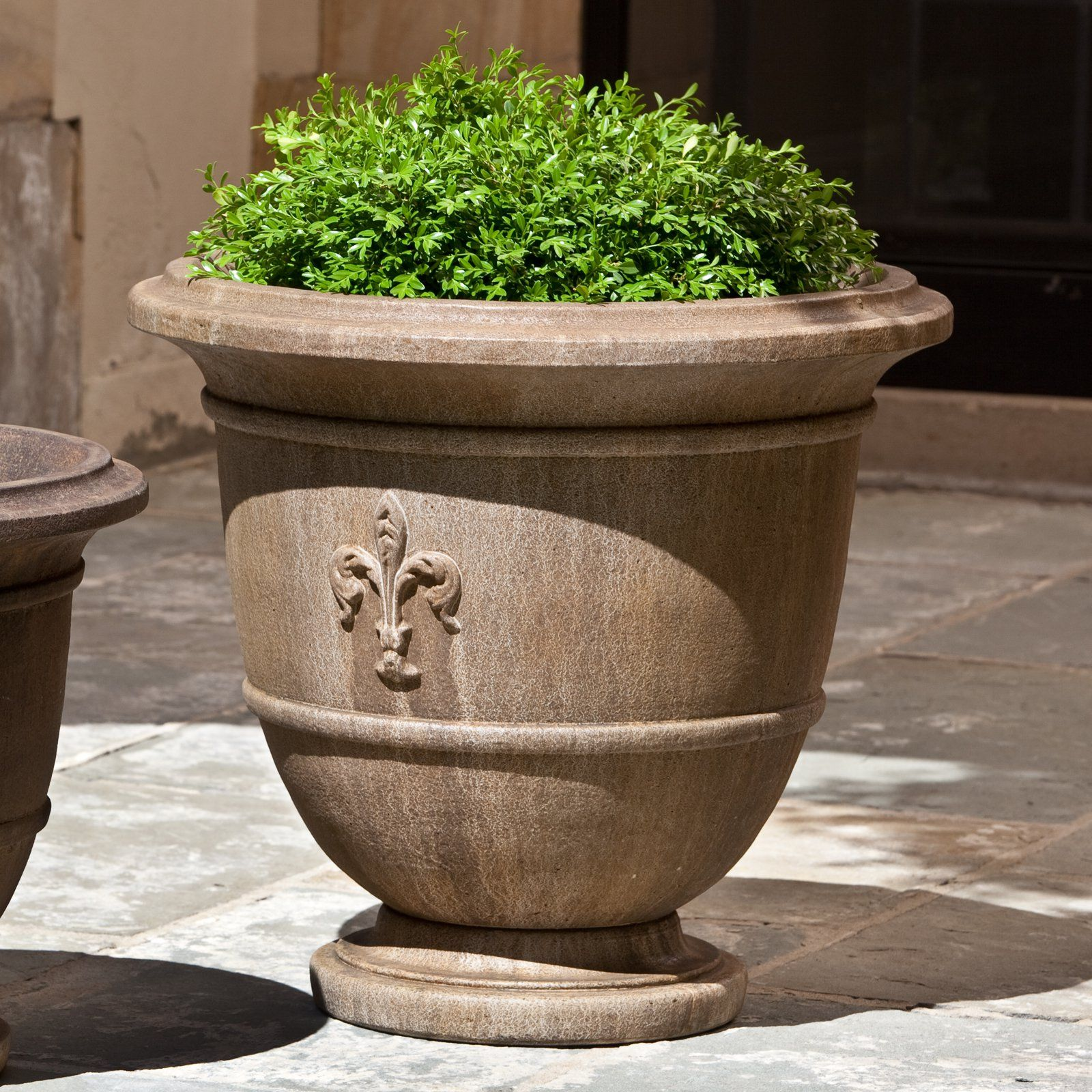 flanking outdoor the them what weekend one want garden and or each urns planter doing spring arbor shed elevated pin planters of i m side in this urn doors on my two pinterest