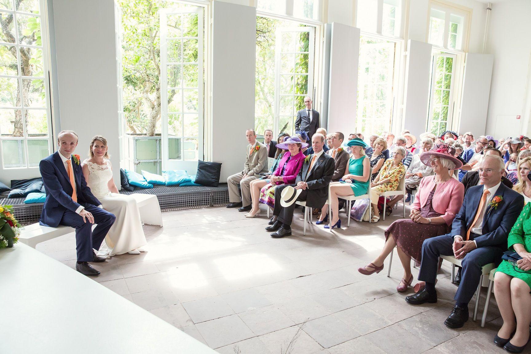 bruiloft bruiloft henriette en graham hortus botanicus