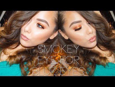Smokey Eye for Blue Eyes ft. Makeup Geek Cosmetics - #smokeyeye #eyemakeup #eyes #makeupgreek #superashley