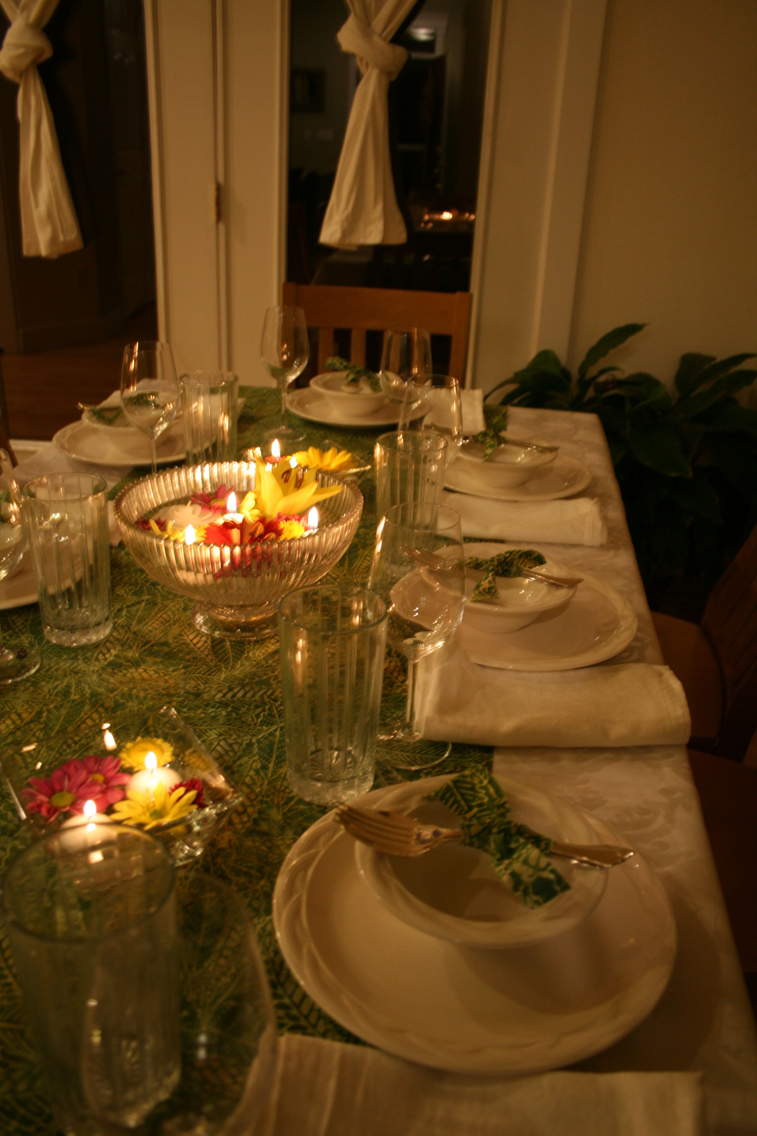 Thai Decorating Ideas Tablescape For Thai Dinner Party Grown Up Party Decor