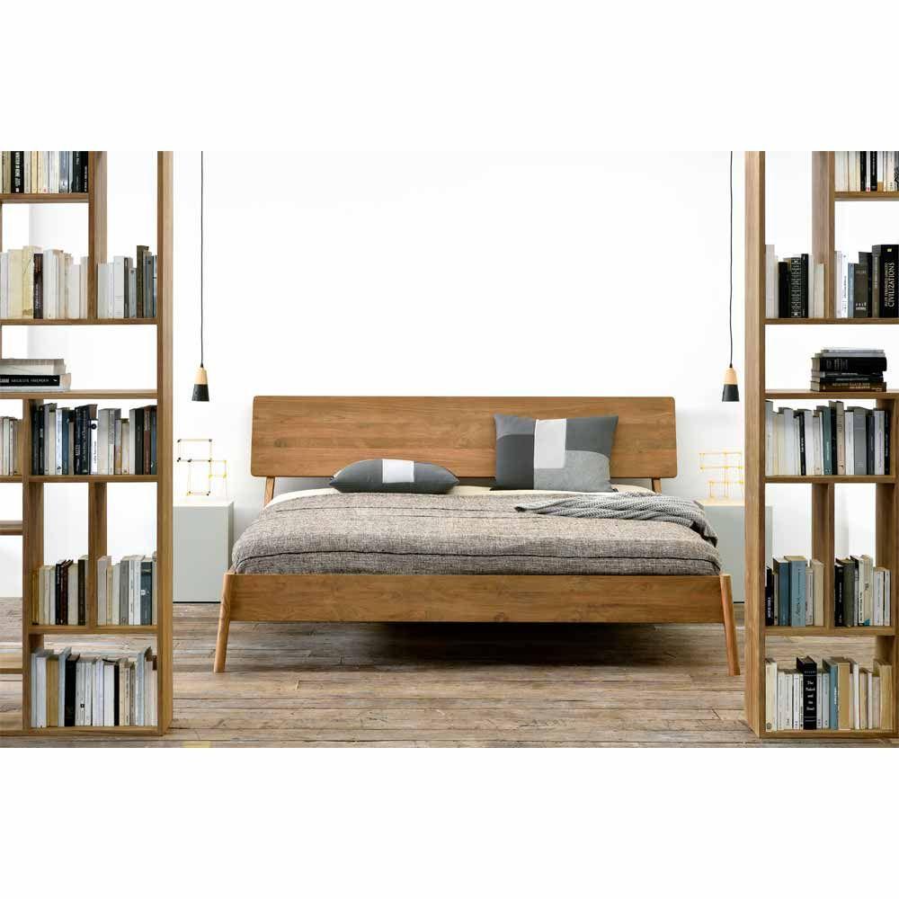 Holzbett Havelock Pinie Schlafzimmermöbel, Schlafzimmer