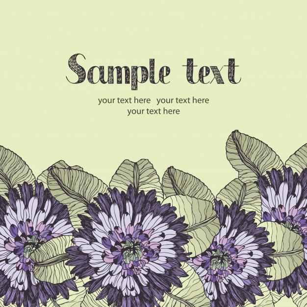 Download Summer Garden Design Card for free in 2020 Card