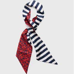 Photo of Gant Reversible Silk Scarf (Red) Gant