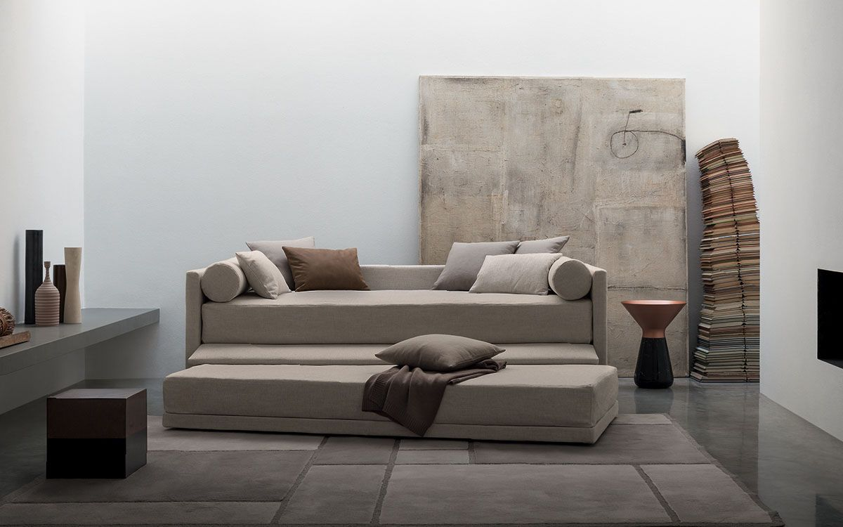 Letto singolo Biss Flou | sleeper sofas | Bed, Sleeper sofa e Daybed