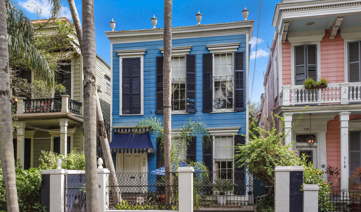 New Orleans Is Filled With Eclectic And Unique Home Designs. What Is Your  Favorite Aspect