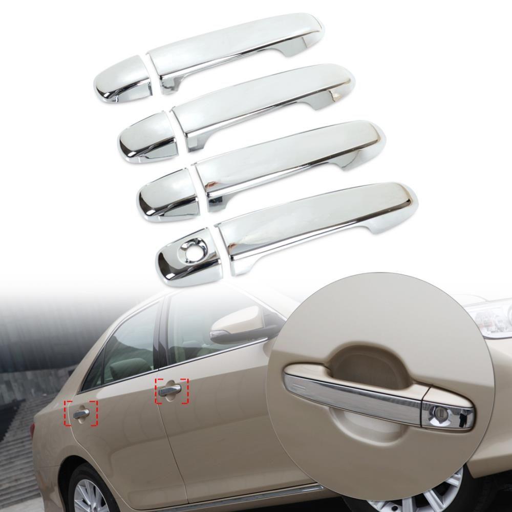 High Quality New Car Exterior Chrome Door Handle Cover Trim Fit