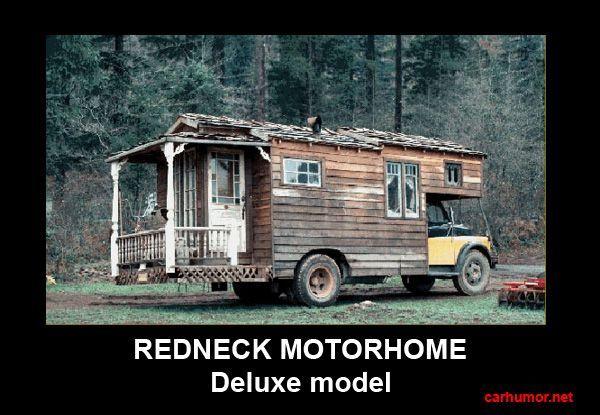 Redneck Humor | car-humor-funny-joke-road-driver-redneck-motorhome-camper-rv-deluxe