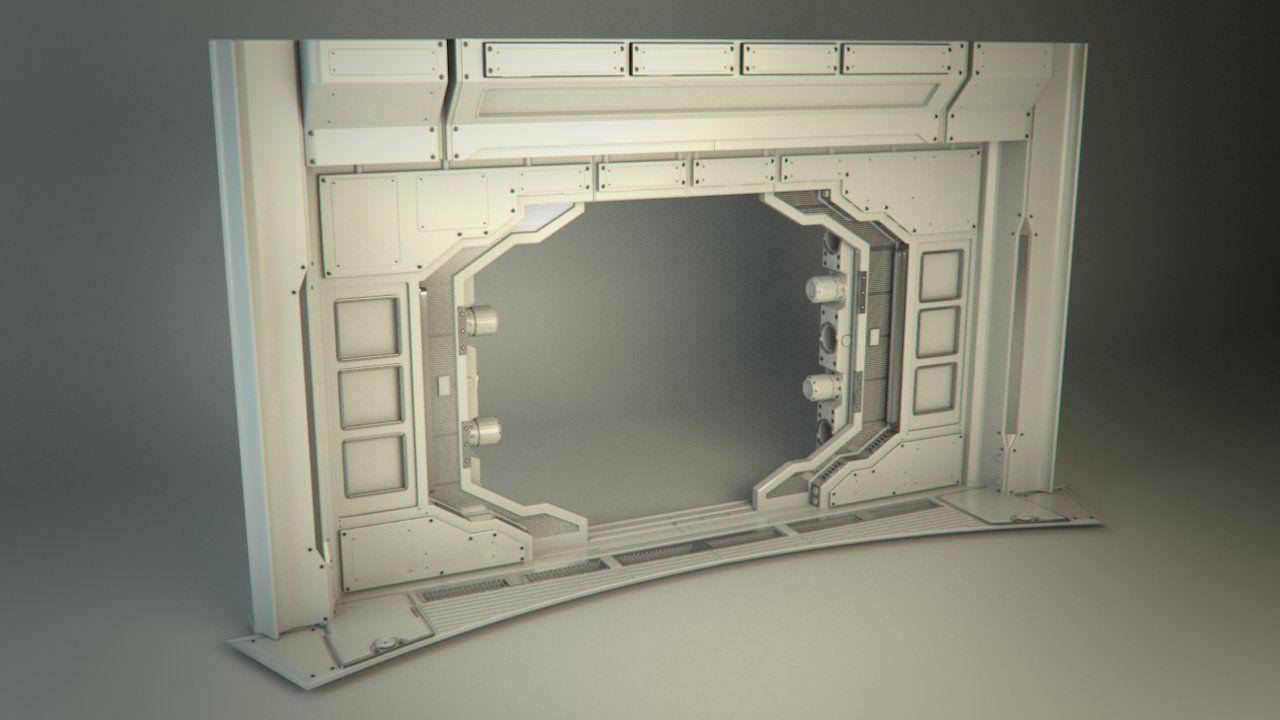 ArtStation - (BlastDoorFrame) Unity Labs - Unity 5 Official Demo, Sokol Mehmeti