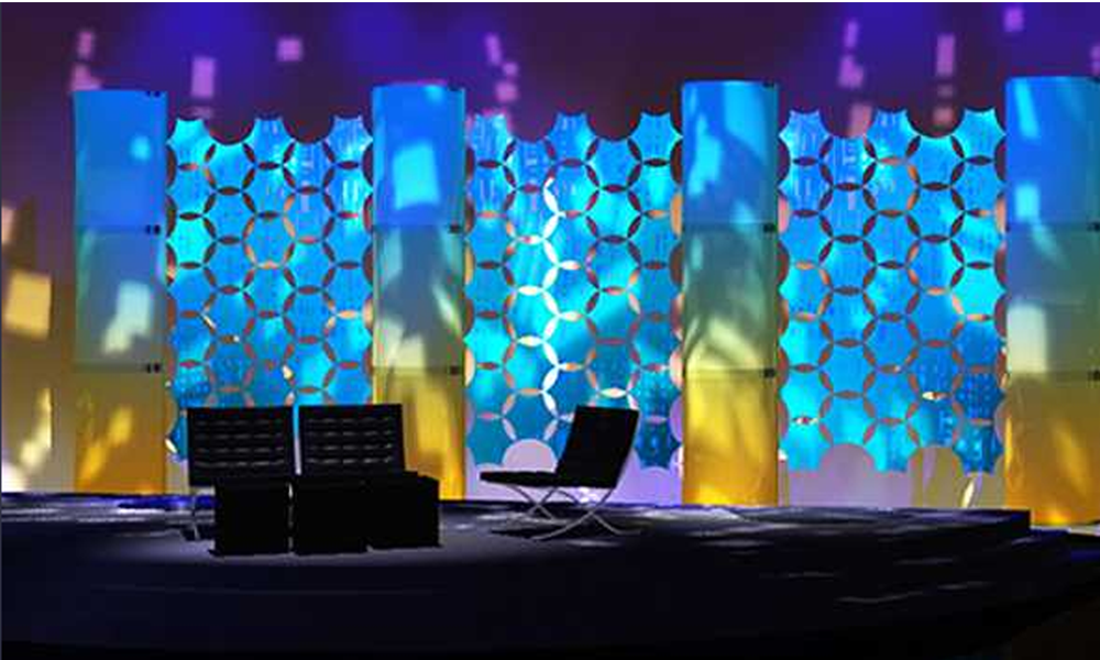simple stage decoration pictures for college functions - google