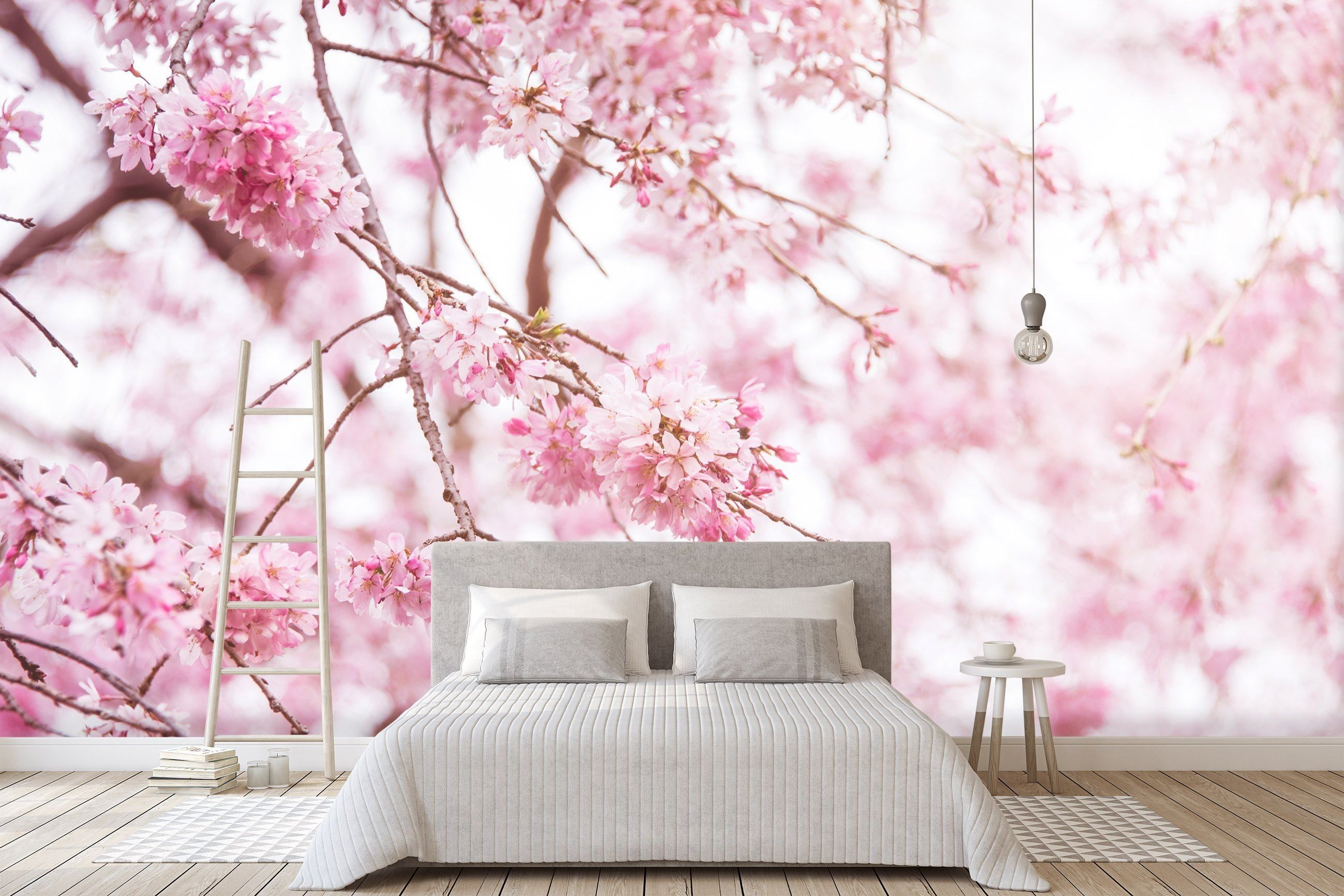 Customize product in 2020 cherry blossom art peach