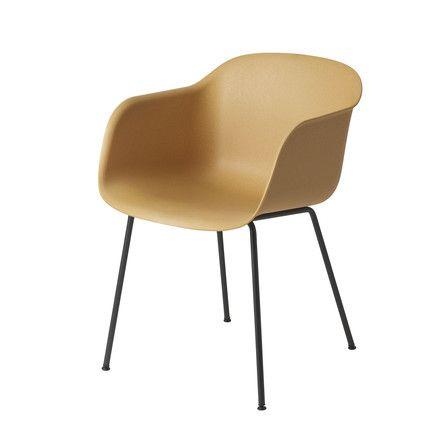 Muuto Fiber Chair Padded Tube Base Connox Chair Furniture Chair Shop Chair