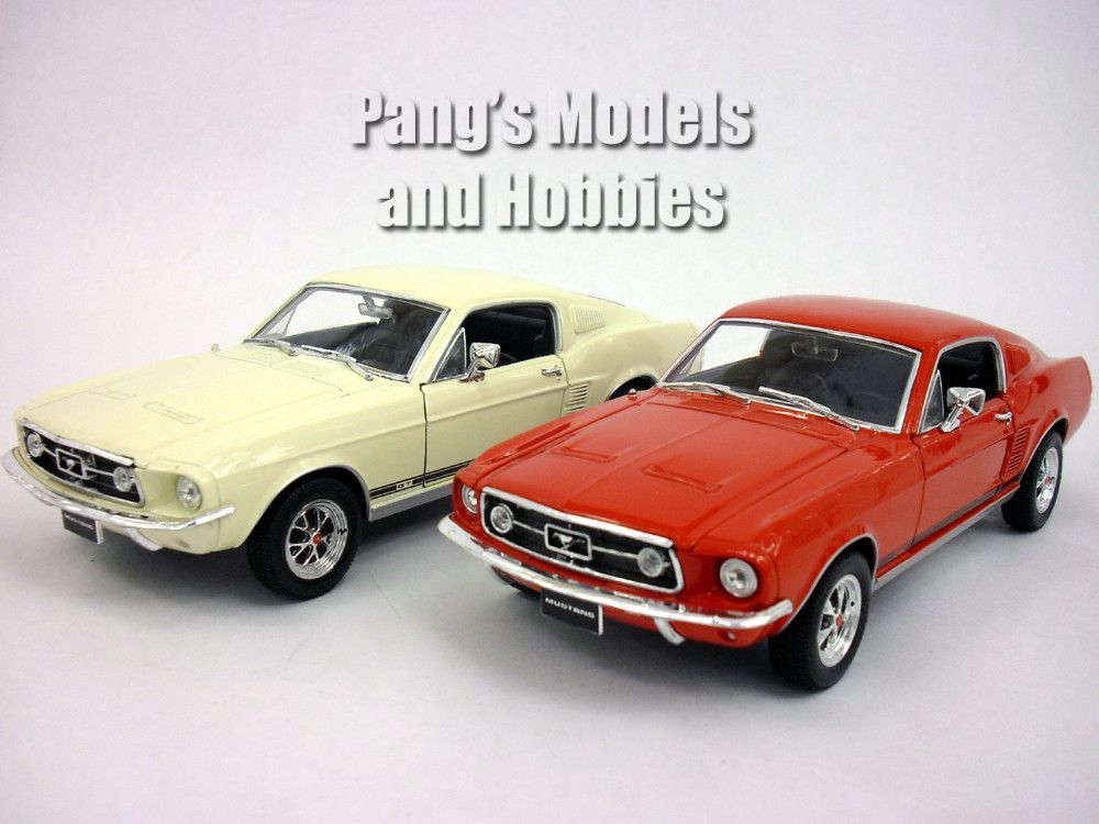 Ford Mustang Gt Cast Metal Model By Welly