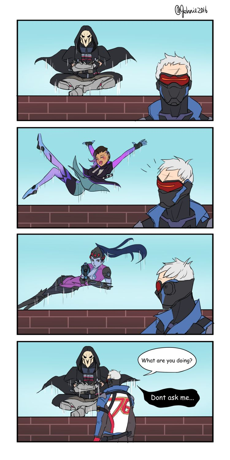 Image of: Reaper Overwatch Comics Overwatch Blizzard Blizzard Entertainment Fandom Reaper overwatch Widowmaker Soldier 76 Sombra overwatch Tracer Dva Pinterest Overwatch Comics Overwatch Blizzard Blizzard Entertainment