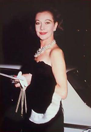 Vivien Leigh candid