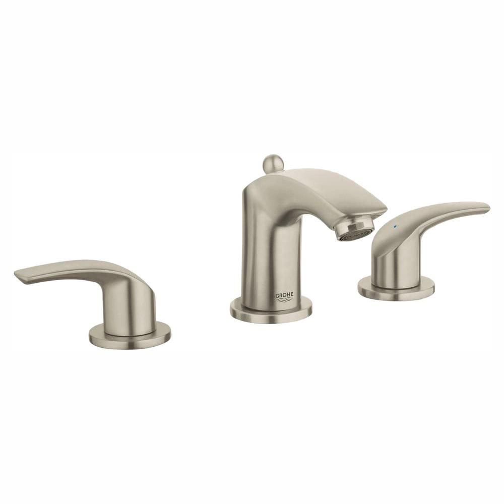 Grohe Eurosmart 8 In Widespread 2 Handle 1 2 Gpm Bathroom Faucet