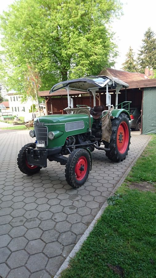 farmer 2 mit gummiwagen fendt oldtimer forum oldtimer. Black Bedroom Furniture Sets. Home Design Ideas