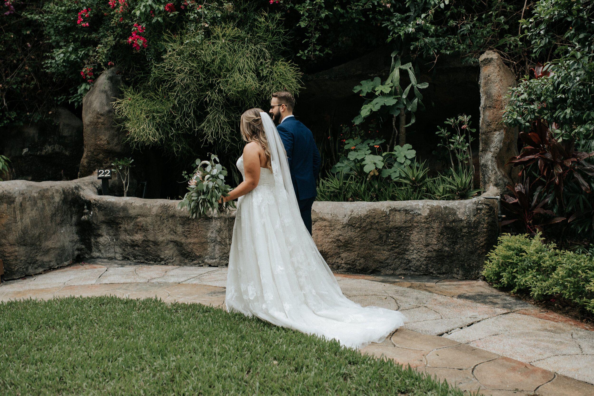 Summer Wedding At Sunken Gardens Florida wedding