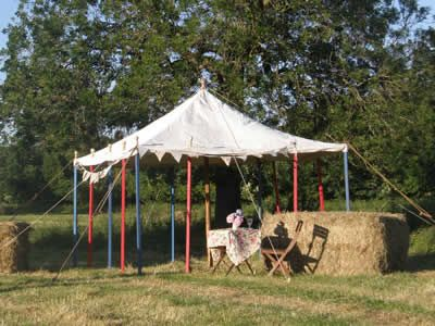 Marquee Hire - Wiltshire and Bath & Vintage Marquees | Hire of traditional canvas marquees | Marquees ...