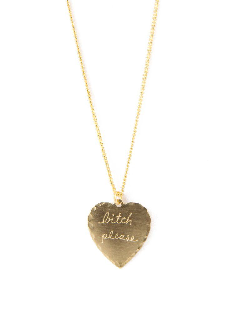 77dbd57a093875 In God We Trust Sweet Nothings Necklace | Lust List | Jewelry gifts ...