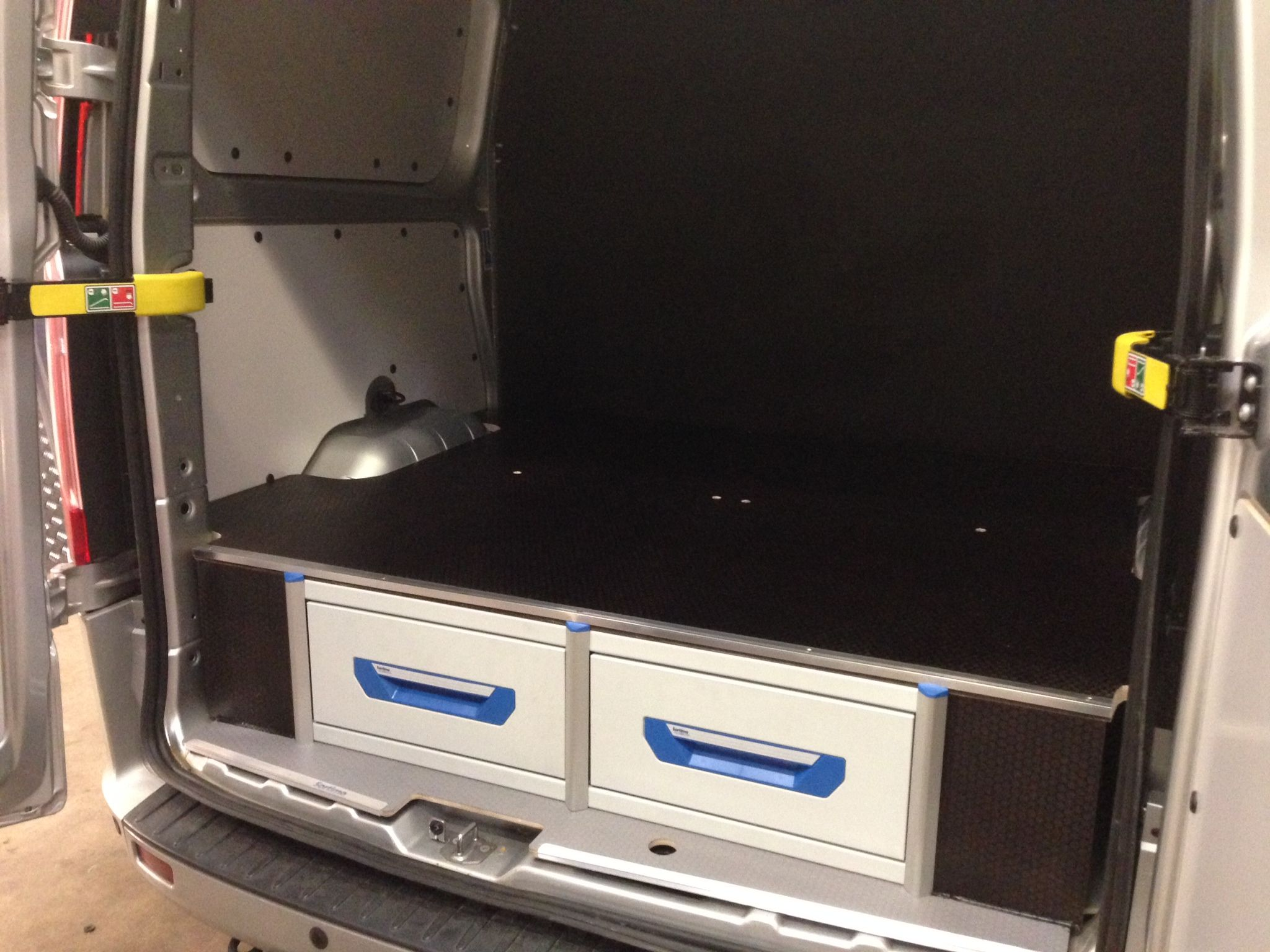 Ford Transit Custom L2 Sortimo Xl Drawer System Accessible From