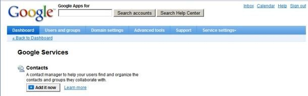 google contact management services