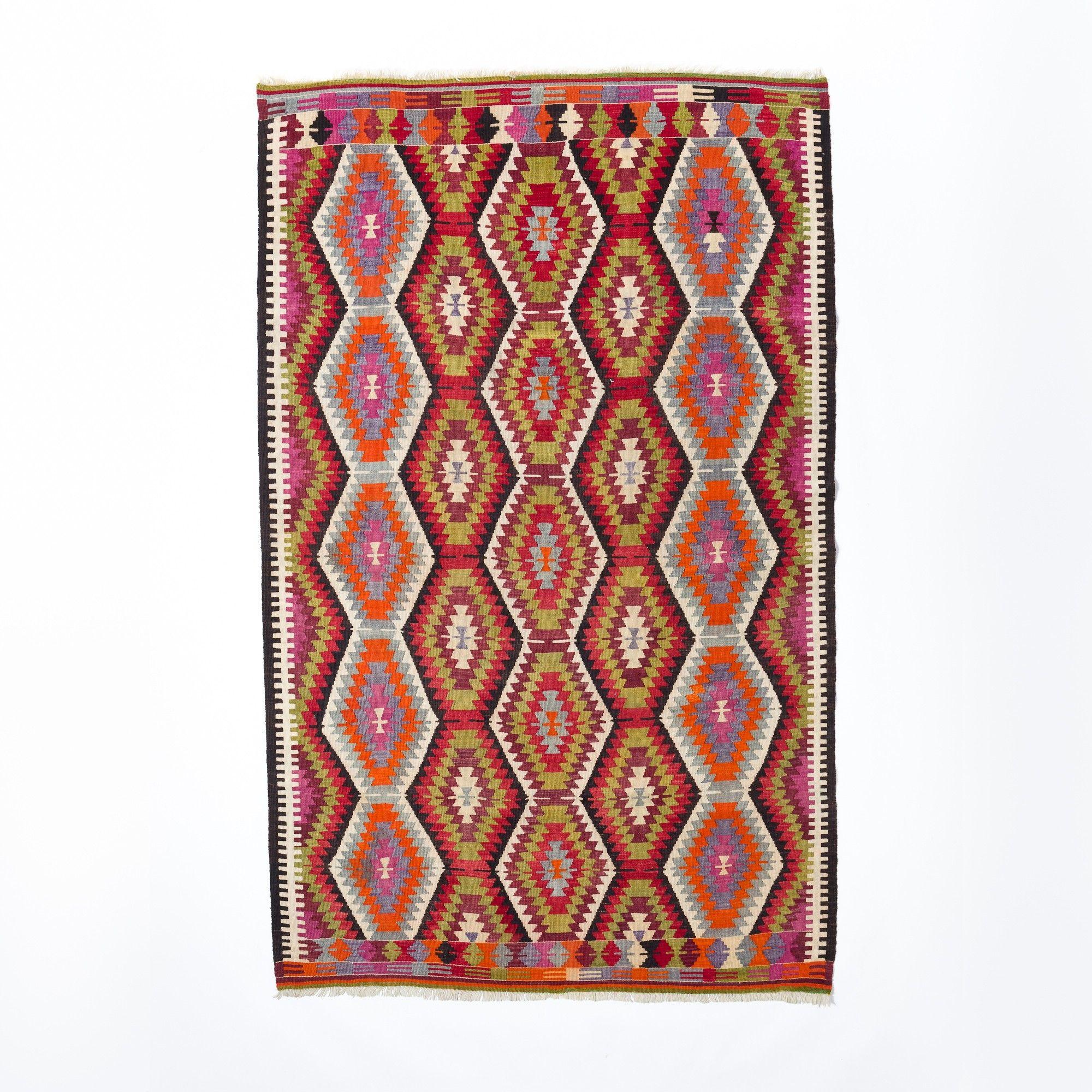 Vintage Anatolian Kilim