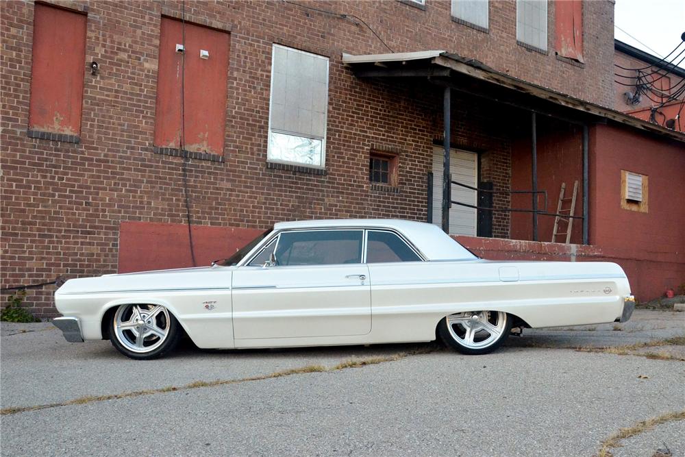1964 Chevrolet Impala Custom Hardtop Side Profile 189291 Chevrolet Impala Classic Cars Chevy Impala
