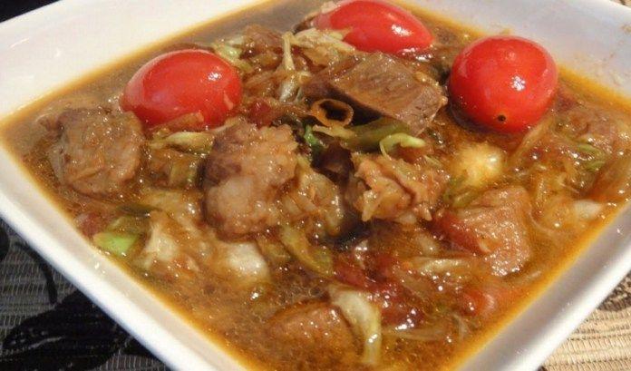 Resep Tongseng Kambing Spesial Tanpa Santan Resep Kambing Resep Makanan
