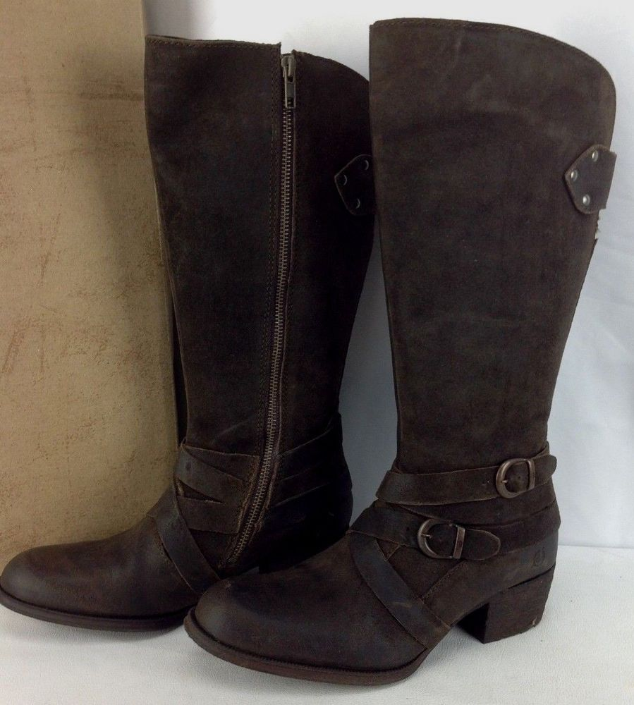 NEW Born Moana Womens 7.5 Brown Leather