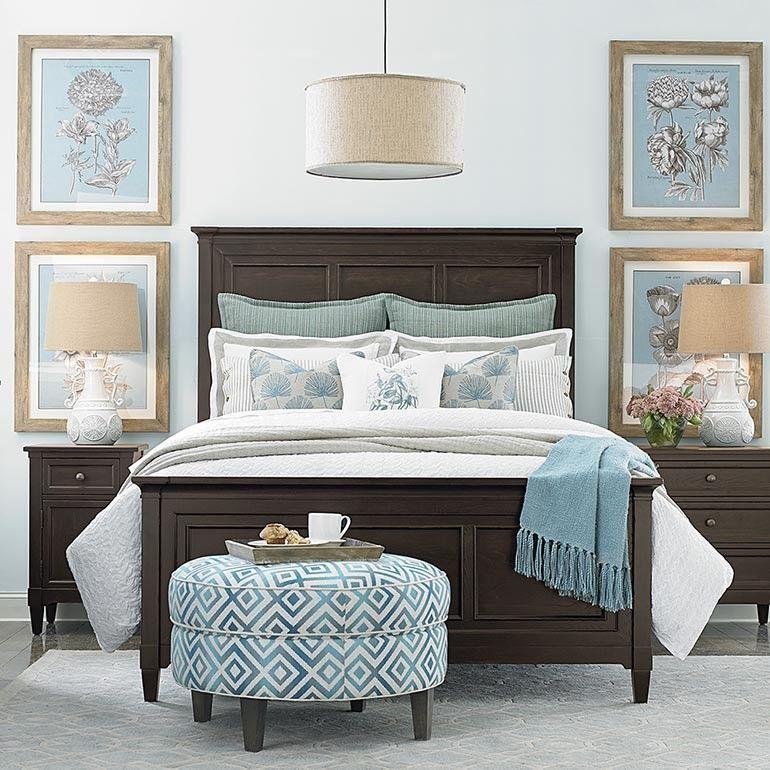 Eldridge Panel Bed Queen bedroom furniture, Bedroom sets