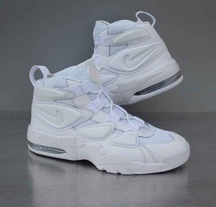 53c1ae99f56ee4 Nike Air Max2 Uptempo  94 Triple White 922934-100 Men s Size 11.5  Nike