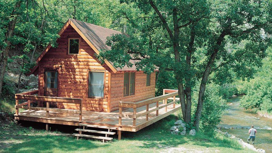 Log Home Design Plan and Kits for Woodsman Log home