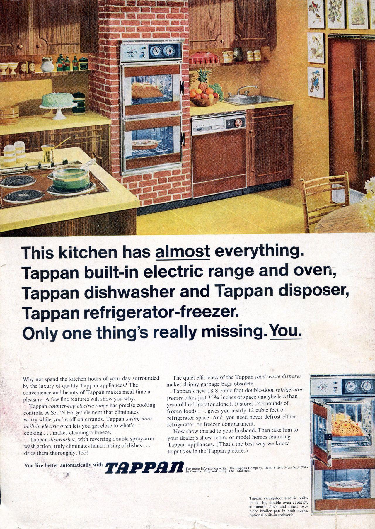 Tappan Kitchen Vintage Kitchen Pinterest