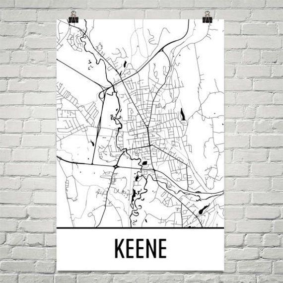 Keene NH Map, Keene State Art, Keene Print, Keene NH Poster, Keene on rindge nh map, jaffrey nh map, keene california map, ludlow vermont map, bennington vermont map, beirut on world map, bellows falls vermont map, fitzwilliam nh map, keene nh, portland maine map, keene tx, new england area map, plymouth england map, keene new york map, rutland vermont map, biddeford maine map, keene vermont map, keene city map, bangor maine map,
